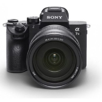 Sony A7 Mark III ILCE with SEL FE 24-105mm F4 G OSS