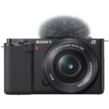 Sony ZV-E10 Vlogging Camera with SEL 16-50mm PZ Lens