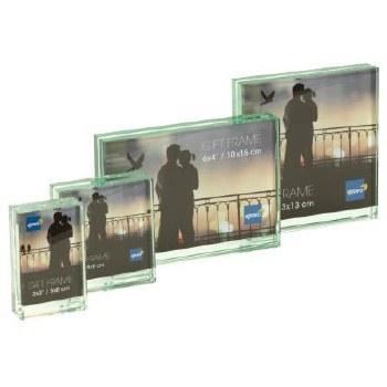 "Kenro Solitaire Glass Block F 6×4"" / 10x15cm"