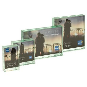"Kenro Solitaire Glass Block F 5x5"" / 13x13cm"