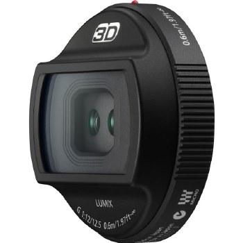 Panasonic H-FT 12.5mm F1.2 3D