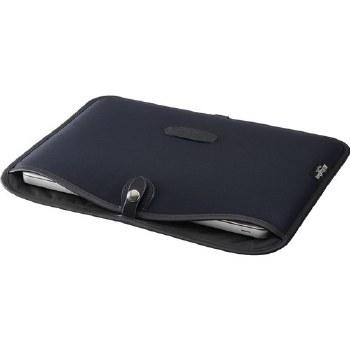 "Billingham 13"" Laptop Slip (Black Canvas / Black Leather)"