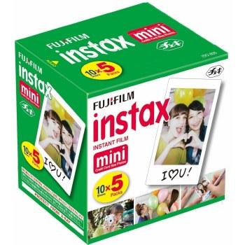 Fujifilm Instax Mini Colour Film (50 Sheets)