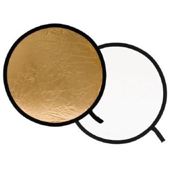 Lastolite 50cm Reflector Gold/White