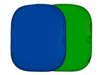 Lastolite Plain Collapsible 1.8 x 2.15m ChromaBlue / ChromaGreen