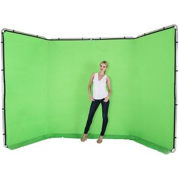 Lastolite 7622 Panoramic Background 4m Green