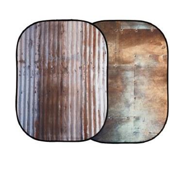 Lastolite LL LB5712 Urban Collapsible 1.5 x 2.1M Corrugated/Metal