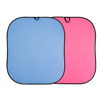 Lastolite Plain Collapsible 1.8 x 2.15m Blue/Pink