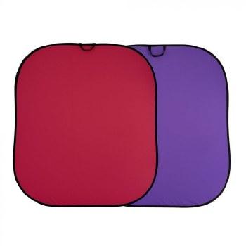Lastolite Plain Collapsible 1.8 x 2.15m Purple/Red
