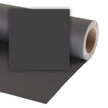 Colorama 9ft XL Paper Roll (2.72 x 25m) - Black