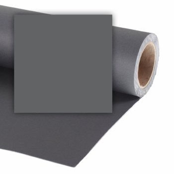 Colorama 9ft wide Paper Rolls (82ft long) - Charcoal
