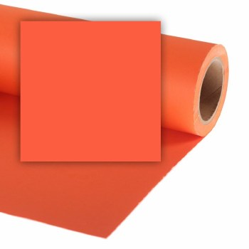 Colorama 4.5ft Paper Roll (36ft long) - Mandarin