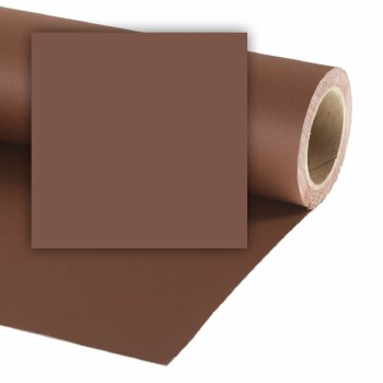 Colorama 9ft XL Paper Roll (2.72 x 25m) - Peat Brown