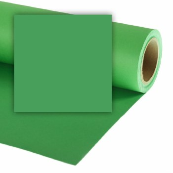 Colorama 9ft wide Paper Rolls (82ft long) - ChromaGreen