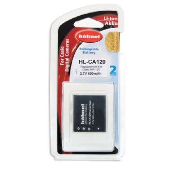 Hahnel HL-CA120 Casio Battery