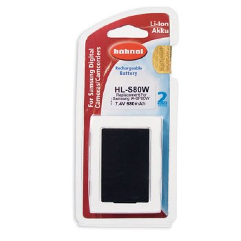 Hahnel HL-S80W Samsung Battery