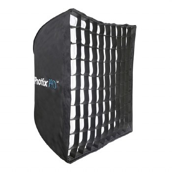 Phottix Pro Easy Up HD Umbrella Softbox with Grid 70x70cm