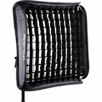 Godox S-Type Bowens Bracket With 60x60cm Softbox And Grid