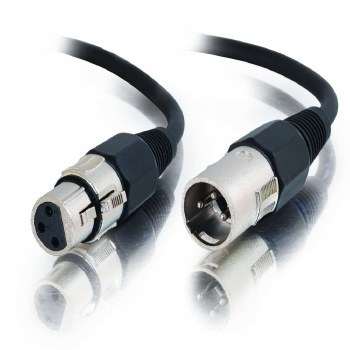 Cables2Go 15m Pro-Audio XLR Male to XLR Female Cable