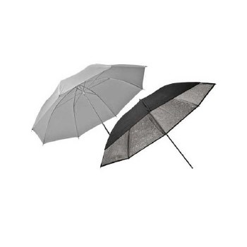 Elinchrom ECO Umbrella Set / Silver-Translucent 83cm