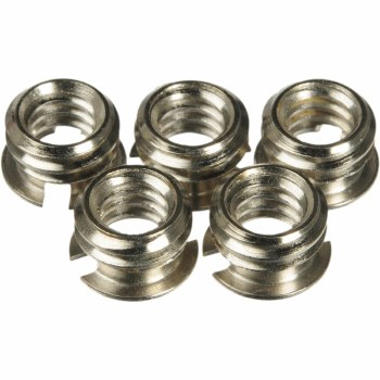 Manfrotto 148KN Set of 5 Reducing Bushings 3/8'' - 1/4''