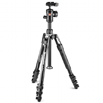 Manfrotto Befree 2N1 Aluminium Tripod Lever Monopod Included