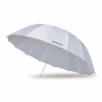 Westcott 7' White Diffusion Parabolic Umbrella