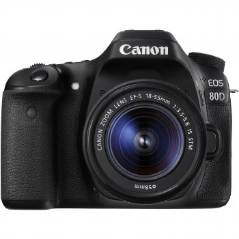 Canon EOS 80D with EF-S 18-55mm IS STM