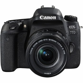 Canon EOS 77D with EF-S 18-55mm IS STM