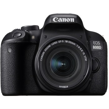 Canon EOS 800D with EF-S 18-55mm IS STM
