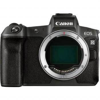 Canon EOS R with EF to RF Adapter