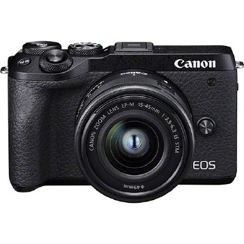 Canon EOS M6 Mark II with EF-M 15-45mm F3.5-6.3 IS STM