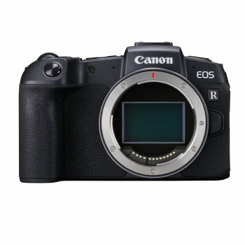Canon EOS RP with EF to RF Adapter