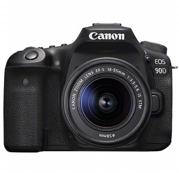 Canon EOS 90D with 18-55mm IS STM