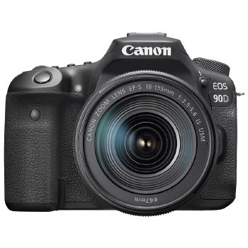 Canon EOS 90D with 18-135mm IS USM