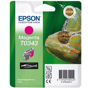 Epson T0343 Magenta ink