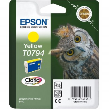 Epson T0794 Yellow Cartridge