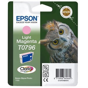 Epson T0796 Light Magenta Cartridge