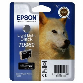 Epson T0969 Light-Light-Black ink
