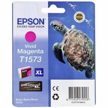 Epson T1573 Vivid Magenta Cartridge