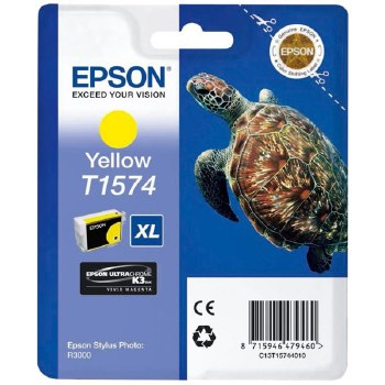 Epson T1574 Yellow Cartridge