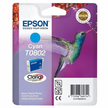 Epson T0802 Cyan ink