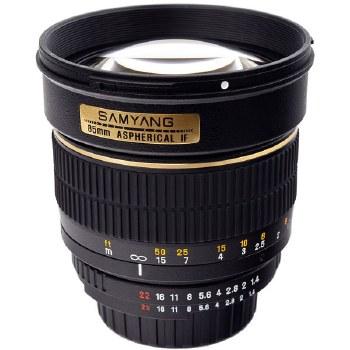 Samyang  85mm F1.4 IF MC Aspher For Nikon F