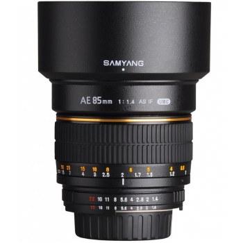 Samyang 85mm F1.4 AS IF UMC For Sony E-Mount