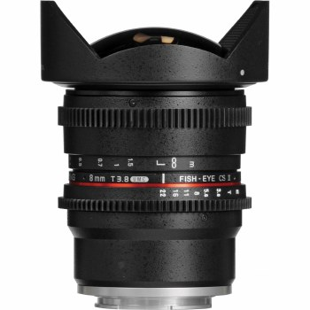 Samyang   8mm T3.1 Fisheye For Sony E-Mount