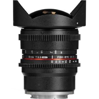 Samyang 8mm T3.8 UMC Fish-Eye For Sony E-Mount