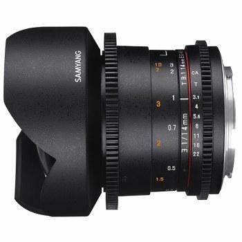 Samyang  14mm T3.1 VDSLR ED AS For Sony E-Mount