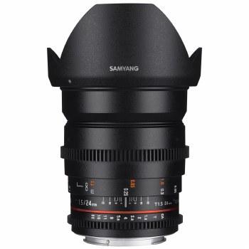 Samyang 24mm T1.5 VDSLR ED AS For Sony E-Mount