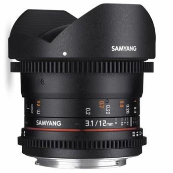 Samyang 12mm T3.1 VDSLR ED AS For Sony E-Mount