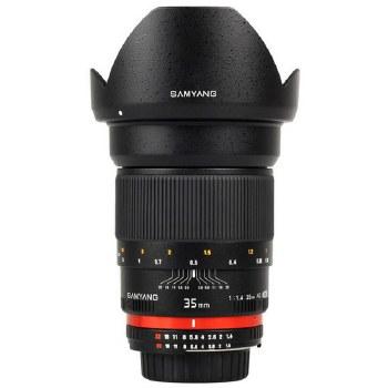 Samyang  35mm F1.4 ED AS For Nikon F